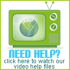 Watch our Video Help Files.